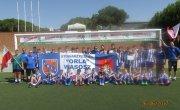Piłkarska młodzież w Hiszpanii