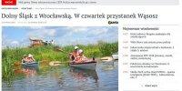 Dolny Śląsk z Wrocławską. W czwartek przystanek Wąsosz