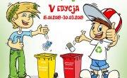 plakat informujący o akcji ekologicznej