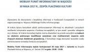 Mobilny Punkt Informacyjny w Wąsoszu