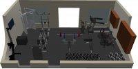 wizualizacja siłowni