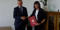 Burmistrz z panią Lorenc