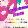 zaproszenie na bal karnawałowy 28.02.2019r.